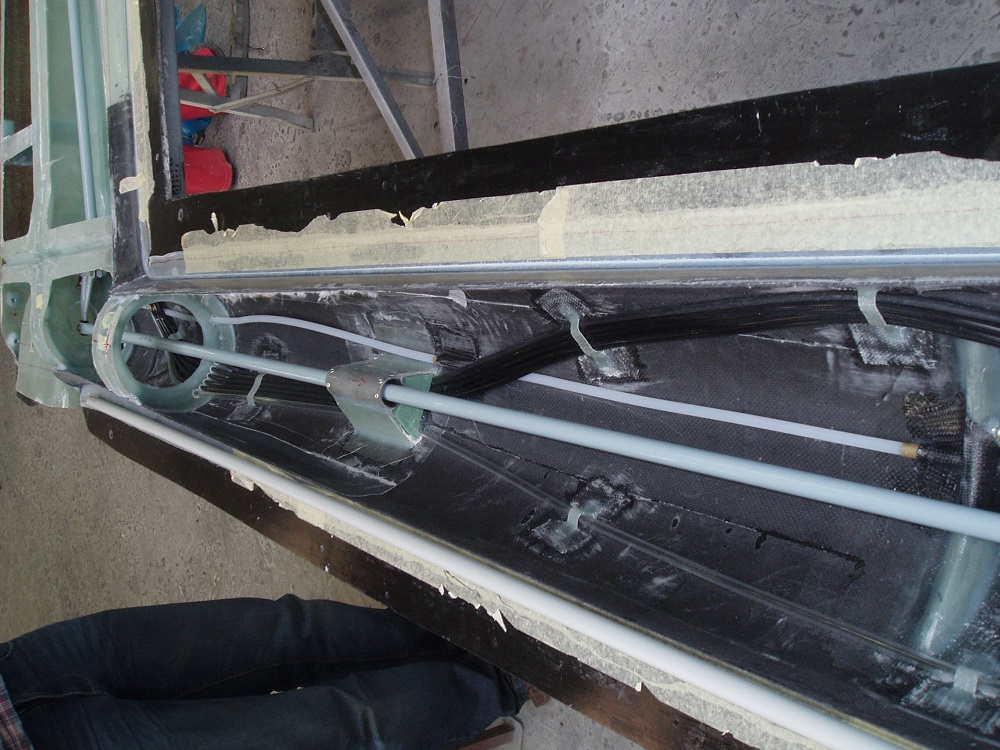 Inside tailboom